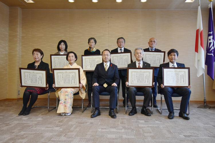 いいね金沢環境活動賞表彰式の様子1