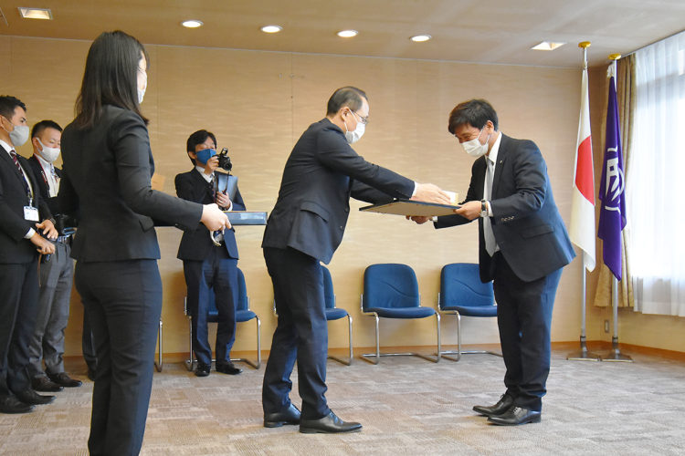 いいね金沢環境活動賞表彰式の様子3